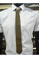Узкий мужской галстук А0011 акрил