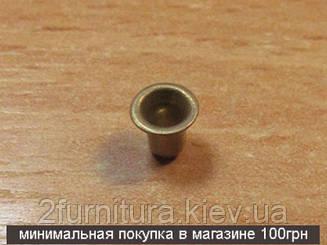 Люверсы (1мм) золото, 100шт 6261