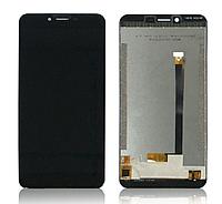 Оригинальный дисплей (модуль) + тачскрин (сенсор) для Oukitel U15S (черный цвет)