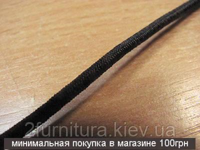 Резинка круглая (3мм) 20м  (ГОРЧИЧНЫЙ)
