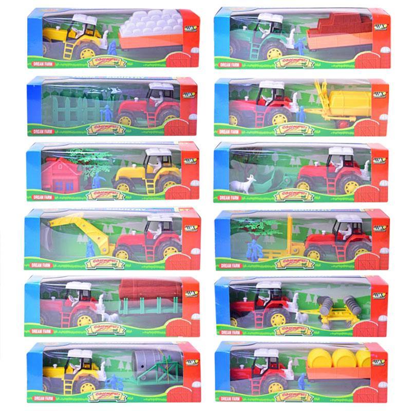 Трактор 986-86A инерция