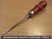 Шило с деревянной ручкой 5шт