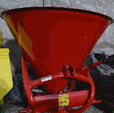 Разбрасыватель лійка минудобрений 500 л Jar Met Польша, фото 3