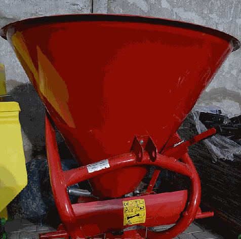 Розкидач лійка добрив 500 л Jar Met Польша, фото 2