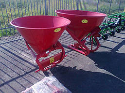 Лійка розкидач міндобрив 500 л Jar Met Польша, фото 2