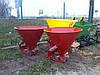 Розкидач лійка міндобрив 500 л бак метал Польща, фото 4