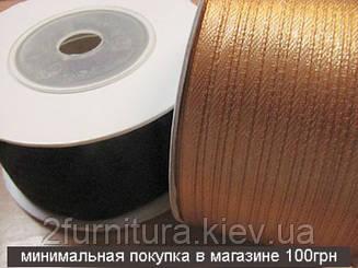 Атласная лента (0,35см - 130м)  035130 (ЧЕРНЫЙ)