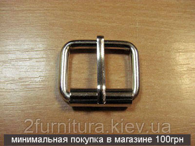 Пряжки для сумок (25мм) никель, 10шт 412510