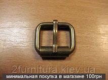 Пряжки для сумок (20мм) антик, 100шт 4126100