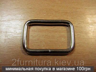 Рамки для сумок (32мм) никель, 100шт 4136100