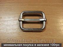 Регуляторы для сумок (25мм) никель, 100шт 004188100