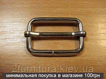 Регуляторы для сумок (32мм) никель, 100шт 04186100