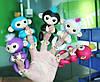 Интерактивные обезьянки Fingerlings. Оригинал. Розовая., фото 3