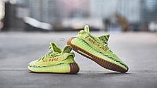 Мужские кроссовки Adidas Yeezy Boost 350 V2 Semi Frozen Yellow B37572, Адидас Изи Буст 350, фото 3