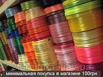 Атласная лента (0,7см - 33м)  0733 (ФУКСИЯ)