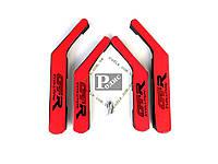 Ручка-подлокотник ВАЗ 2101, 2102, 2103, 2104, 2105, 2106, 2107 комплект (красно-черные)