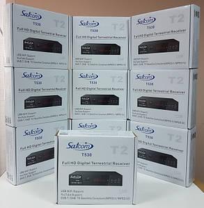 Цифровой эфирный DVB-T2 приемник Т2 ресивер приставка Satcom T530