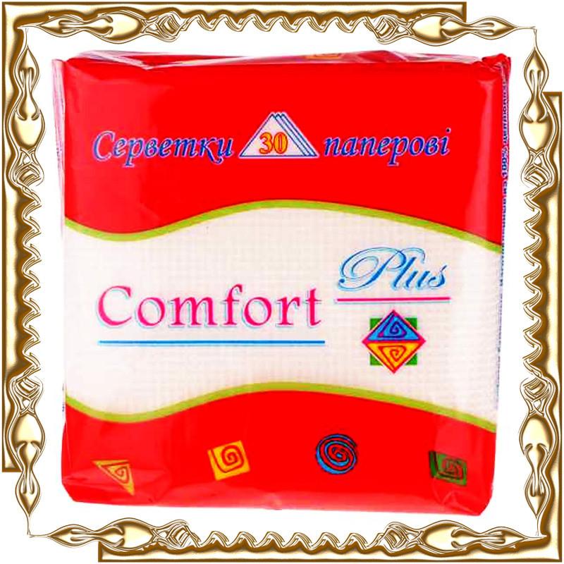 Салфетка столовая Comfort Plus белая
