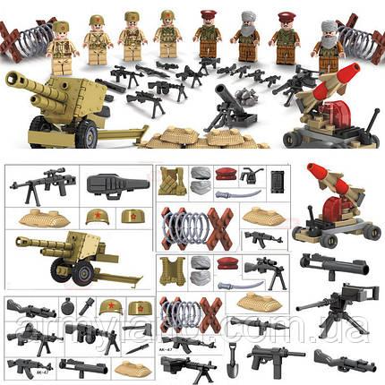 Военные фигурки, Набор Афганистан, военный конструктор, аналог лего, BrickArms, фото 2