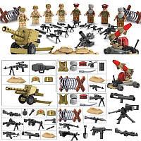 Военные фигурки, Набор Афганистан, военный конструктор, аналог лего, BrickArms