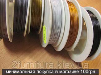 Ювелирный тросик (100м) (ЧЕРНЫЙ)