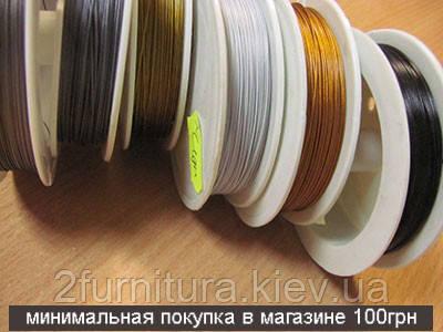 Ювелирный тросик (100м) (СЕРЫЙ)