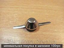 Ножки для сумок (10мм) никель, 50шт 5034