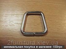 Рамки для сумок (21мм) никель, 20шт 4159