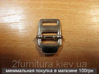 Регуляторы для сумок (10мм) никель, 10шт 4204