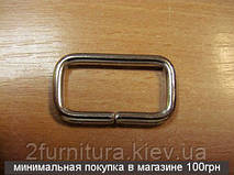 Рамки для сумок (30мм) никель, 20шт 04139