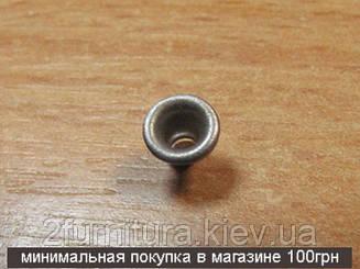 Люверсы (1мм) никель, 100шт 6261