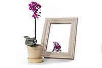 Зеркало в багете, зеркала настольные, зеркала настенные, зеркало с подставкой, 317-128