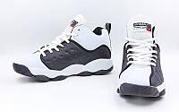 Обувь для баскетбола мужская Jordan (р-р 41-45, черно-белый)