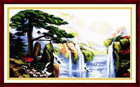 Водопад F015 Набор для вышивки крестом