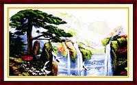 Водопад Набор для вышивки крестом