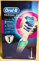 Электрическая аккумуляторная зубная щетка Oral-B Trizone 3000, фото 1