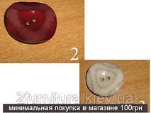 Пуговицы пластмассовые пробивные (28мм) 006 (Модель 2)