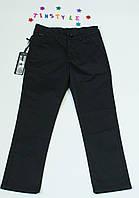 Черные  брюки  под классику для мальчика на рост 122-158 см, фото 1
