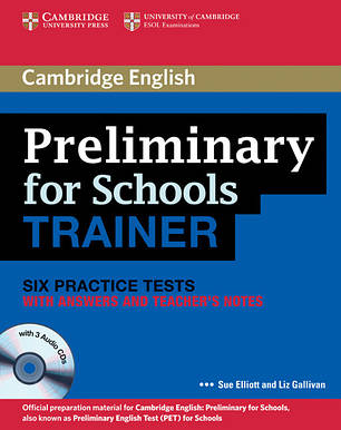 Учебник Cambridge English: PET for Schools Trainer Practice Tests with answers, Teacher's Notes and Audio CDs, фото 2