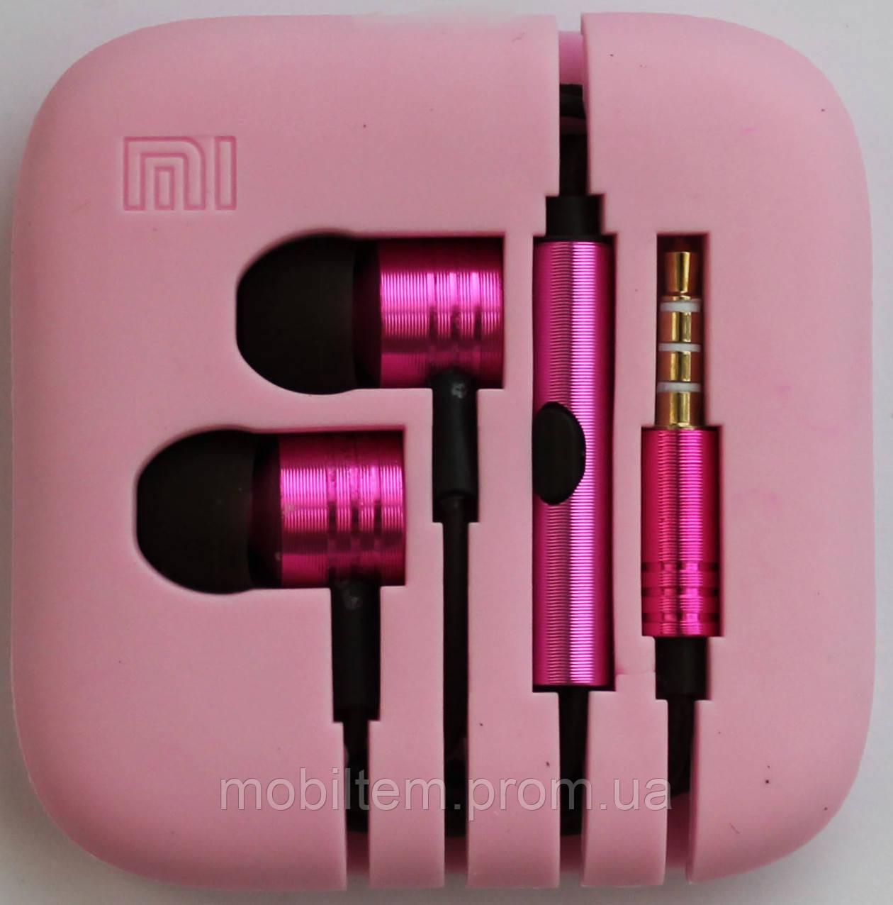 Наушники Xiaomi Piston 2 Pink copy  продажа 99b24ebe3fd6a