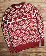 Норвежский свитер с оленями