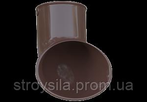 Слив трубы ПВХ коричневый