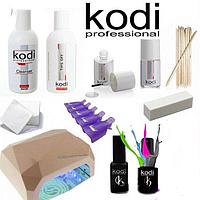 Стартовый набор для гель-лака Kodi с УФ гибридной лампой CCFL * LED 36W
