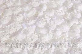 Искусственные лепестки роз белые 50 г/упак.