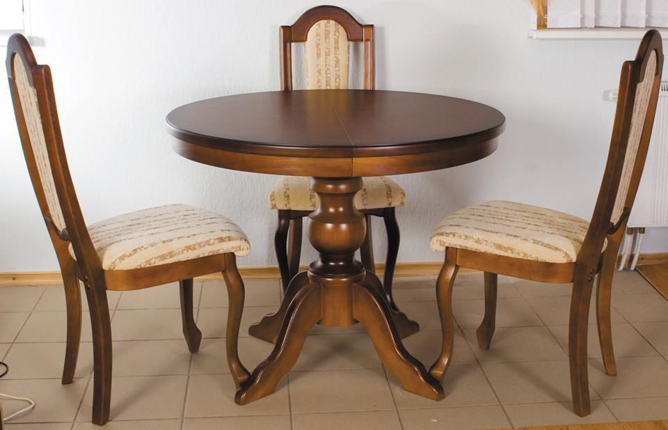 Стіл обідній круглий Рондо РКБ-Меблі, колір на вибір