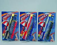 Ракета Omega с парашютом (3 вида) Simba