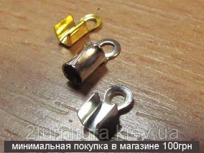 Бижутерные элементы 00039н (НИКЕЛЬ МАТОВЫЙ, в упаковке 30шт)