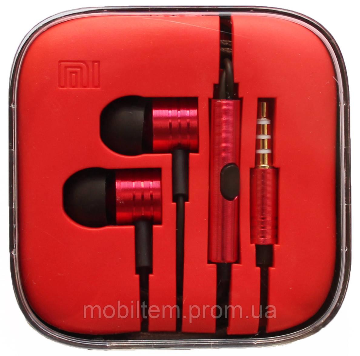 Наушники Xiaomi Piston 2 Red copy  продажа 366ceeb24c726