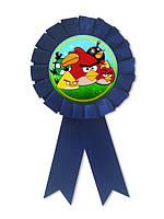 Медаль детская Злые птички подарочная