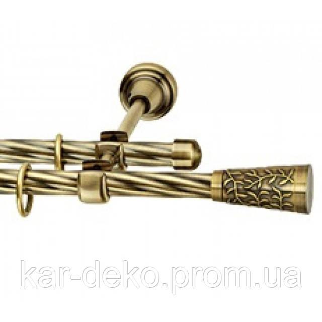 фото карниза трубчатого для штор Севилия kar-deko.com
